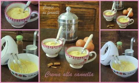 collage crema con cannella