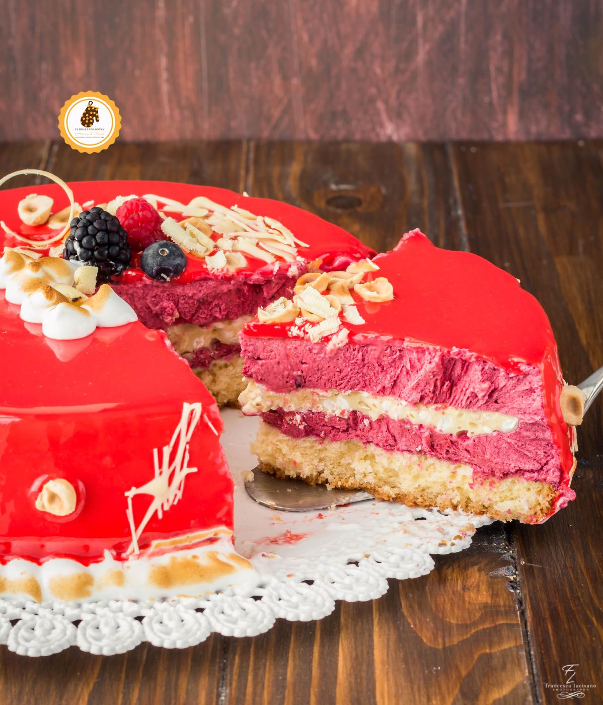 Naked Cake ai Frutti di Bosco   Ricetta ed ingredienti dei